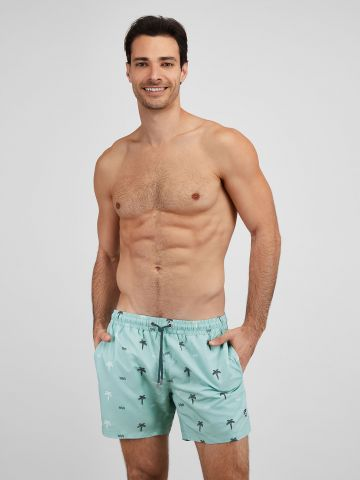מכנסי בגד ים בהדפס עצים / גברים של EL CAPITAN