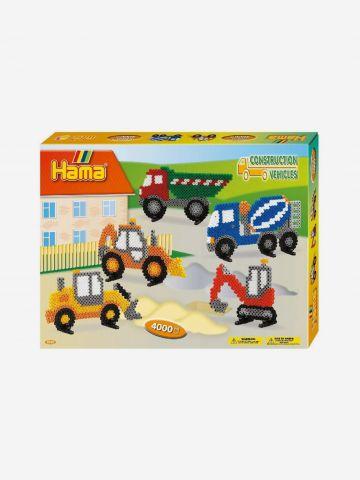 Hama חרוזי גיהוץ כלי תחבורה / 5+ של TOYS