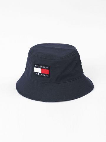 כובע באקט עם רקמת לוגו / נשים של TOMMY HILFIGER