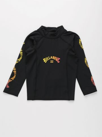 חולצת גלישה עם הדפס לוגו של BILLABONG