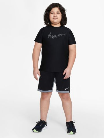 חולצת אימון עם הדפס מותג של NIKE