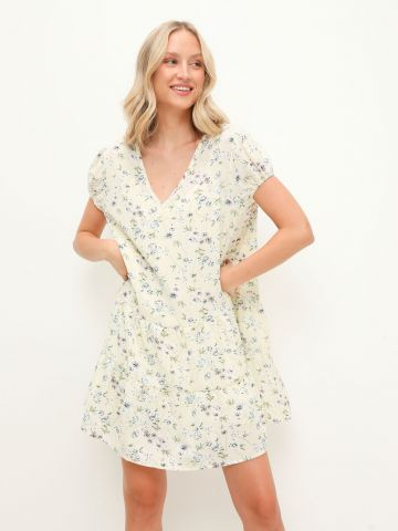 שמלת מיני בהדפס פרחים / נשים של YANGA