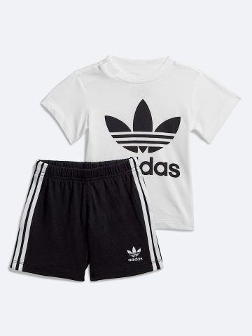 סט חולצה ומכנסיים קצרים עם לוגו של ADIDAS Originals