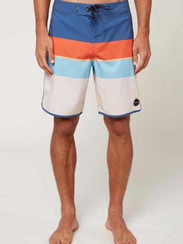 מכנסי בגד ים בהדפס פסים / גברים של ONIELL