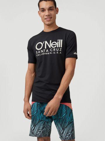 חולצת גלישה עם הדפס לוגו של ONIELL