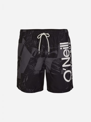 מכנסי בגד ים קולור בלוק עם לוגו / גברים של ONIELL