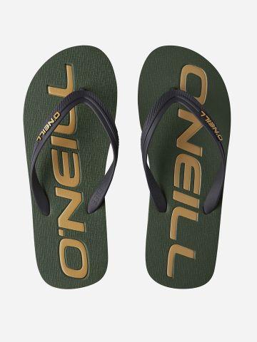 כפכפי אצבע בהדפס לוגו / גברים של ONIELL