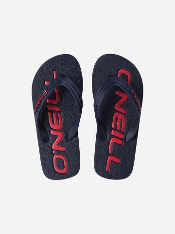 כפכפי אצבע עם לוגו / בנים של ONIELL