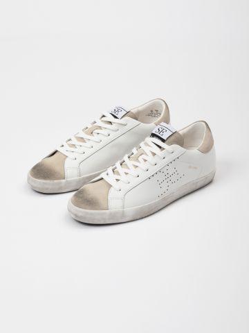 נעלי סניקרס עם לוגו / נשים של SAM EDELMAN