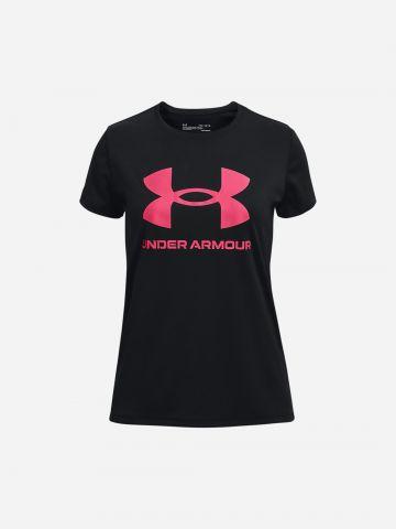 טי שירט עם לוגו / בנות של UNDER ARMOUR