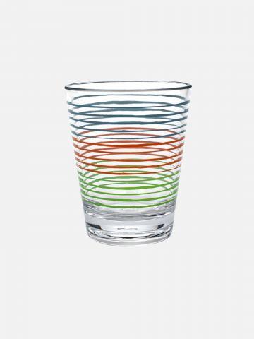 כוס פלסטיק עם פסים של FOX HOME