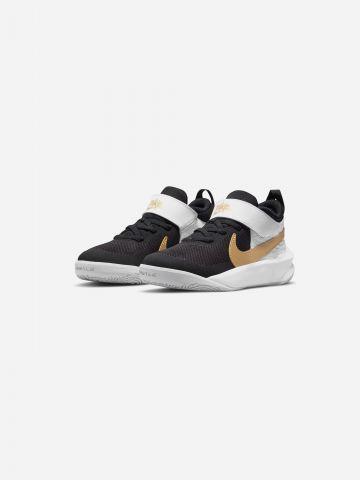 נעלי כדורסל TEAM HUSTLE D 10 / בנים של NIKE