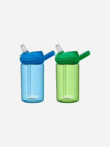 2 בקבוקי מים עם פיה נשלפת Eddy kids plus / ילדים של CAMELBAK