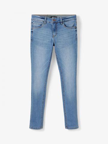 מכנסי ג'ינס ארוכים בשטיפה בהירה של LMTD