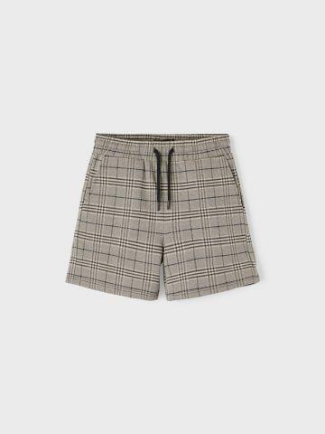 מכנסי ברמודה קצרים בהדפס משבצות / בנים של LMTD