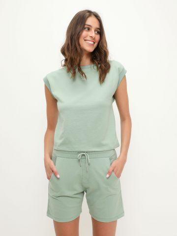 מכנסיים קצרים עם הדפסים של YANGA
