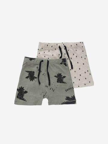 מארז 2 מכנסיים קצרים בצבעים שונים / 3M-12M של MINENE
