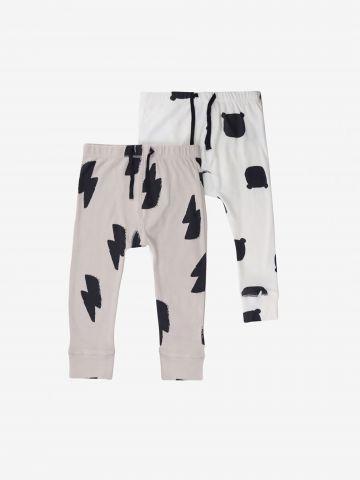 מארז 2 מכנסיים ארוכים / 0-12M של MINENE