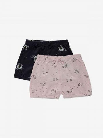מארז 2 מכנסיים קצרים בהדפסים / 0-12M של MINENE