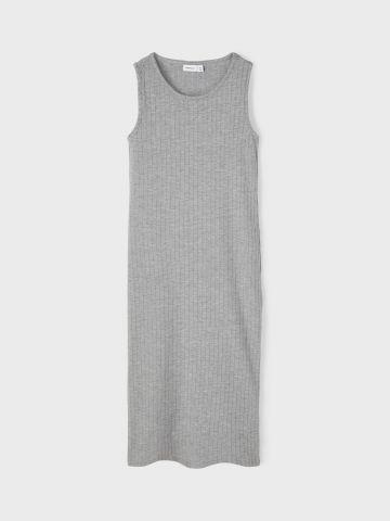 שמלת מקסי בטקסטורת פסים / בנות של NAME IT