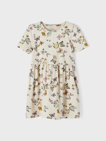 שמלה בהדפס פרפרים / 1Y-5Y של NAME IT