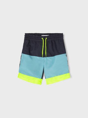 מכנסי בגד ים קולור בלוק / 9M-7Y של NAME IT
