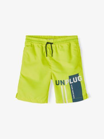 מכנסי בגד ים עם הדפס / 9M-7Y של NAME IT