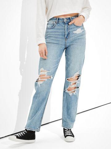 ג'ינס ארוך עם קרעים / נשים של AMERICAN EAGLE
