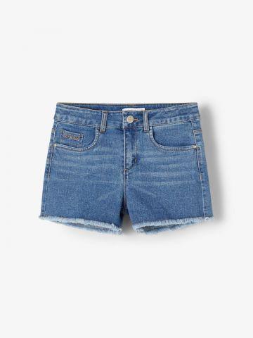 ג'ינס קצר בסיומת פרומה / 1.5Y-14Y של NAME IT