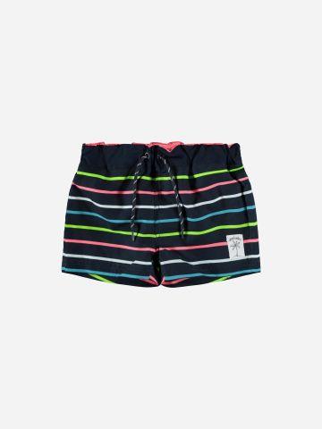 מכנסי בגד ים בהדפס פסים / 1.5Y-7Y של NAME IT