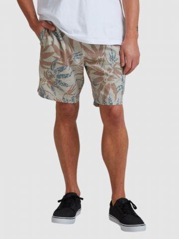 מכנסי בורדשורטס בהדפס עלים של BILLABONG