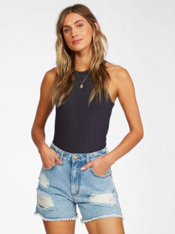 ג'ינס קצר עם קרעים של BILLABONG