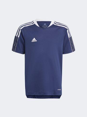 חולצת אימון  TIRO עם הדפס לוגו / Teen של ADIDAS Performance