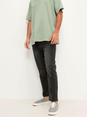 ג'ינס סקיני בשילוב שפשופים של FOX