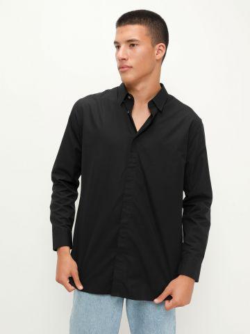 חולצה מכופתרת קלאסית של UNIQLO