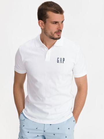 חולצת פולו עם רקמת לוגו של GAP