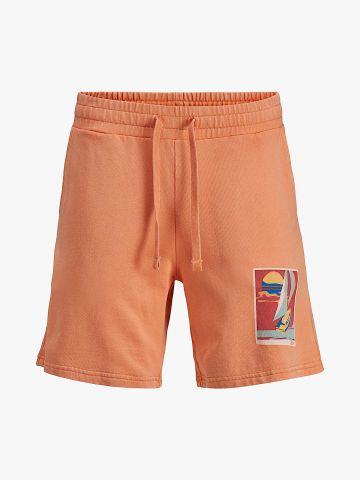 מכנסי טרנינג עם הדפס / 8Y-16Y של JACK AND JONES