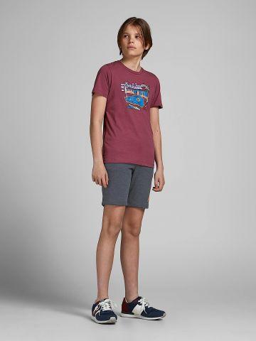 מכנסי טרנינג עם לוגו של JACK AND JONES