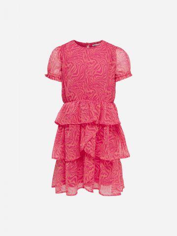 שמלת קומות בהדפס / בנות של KIDS ONLY