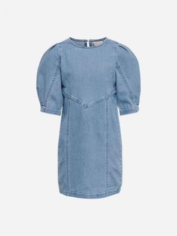 שמלת ג'ינס עם שרוולים נפוחים / בנות של KIDS ONLY