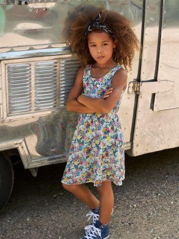 שמלה בהדפס פרחים של KIDS ONLY