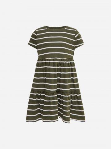 שמלת קומות בהדפס פסים / בנות של KIDS ONLY