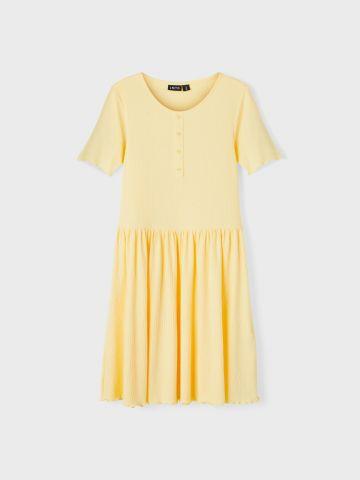 שמלת ריב עם שרוולים קצרים / בנות של LMTD