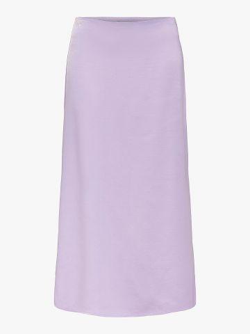 חצאית מידי סאטן / נשים של ONLY