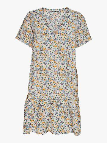 שמלת מיני בהדפס פרחים של ONLY