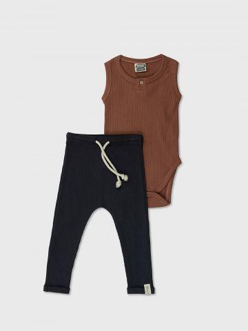 סט בגד גוף ומכנסיים ארוכים / N.B-2Y של MINENE