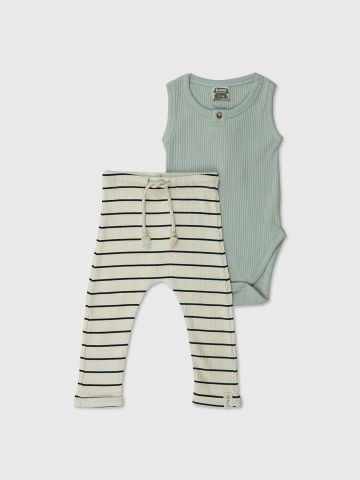 סט בגד גוף ומכנסיים / N.B-2Y של MINENE
