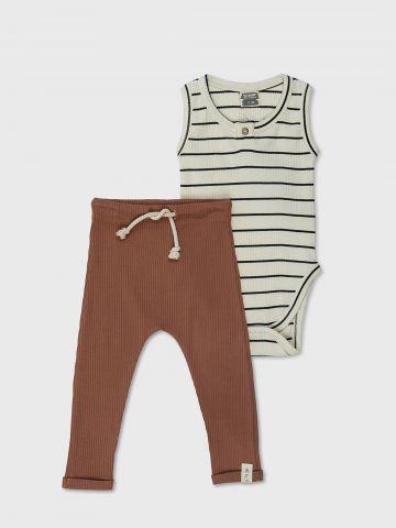 מארז הכולל 2 סטים בגד גוף ומכנסיים / N.B-2Y של MINENE