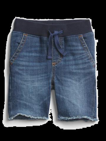 מכנסי ג'ינס קצרים עם פרנזים / 12M-5Y של GAP