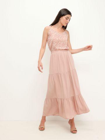 חצאית מקסי קומות של YANGA